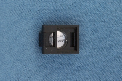 Thread Counter with tenfold magnification, plastic