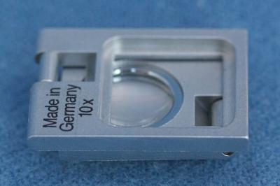 Fadenzähler 10fach-Vergrößerung, Metall