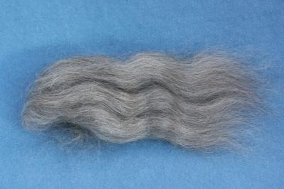 grey Gotland wool, top