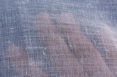 Kopftuchleinen transparent