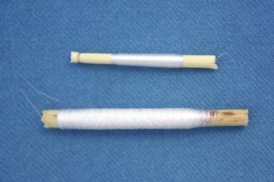 hauchfeiner Seidenfaden/extrafine silk thread