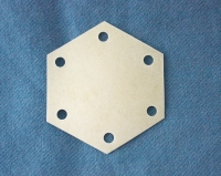 six-hole vellum weaving tablets