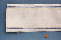 linen tube with stripes