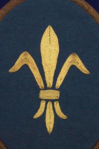 Embroidery Kit Fleur de Lis